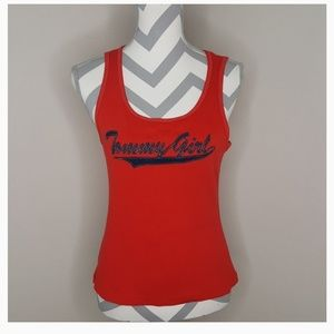 Tommy Hilfiger Tommy Girl Red Tank Top